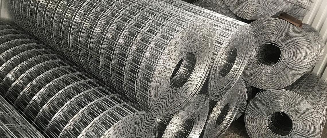 Собственное производство сварной сетки из светлой и оцинкованной проволоки